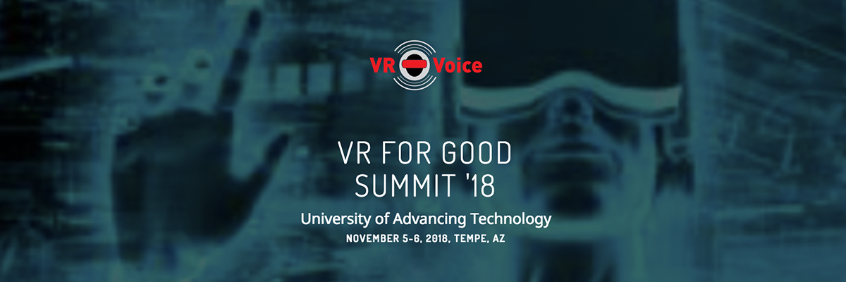 VR for Good Summit 2018